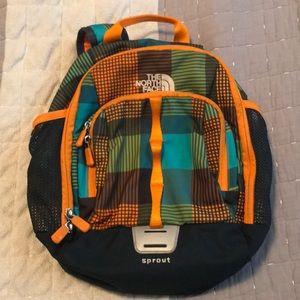 North face preschool backpack